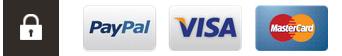 PayPal - Visa - Master Card - Geo Trust