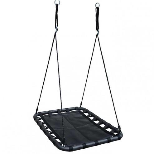 100cm Black Rectangle Mat Nest Swing