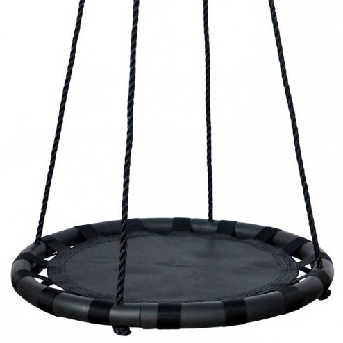60cm Black Round Mat Nest Swing