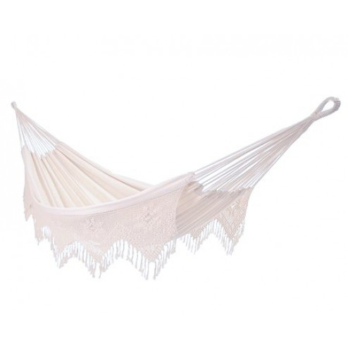 Brazilian Double Deluxe Hammock - Natural