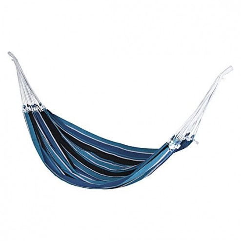 Brazilian Single Hammock - Steel Blue