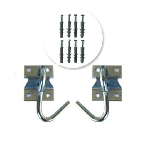 Double Hammock Hook Kit with screws