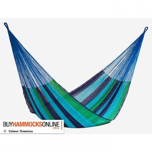 Jumbo Cotton Hammock - Oceanica