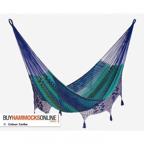 King Deluxe Outdoor Mexican Hammock