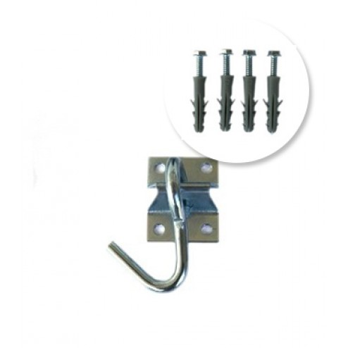 Single Hammock Hook Kit with screws
