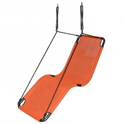165cm Orange Textilene Lounge Swing