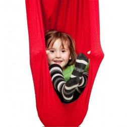 Large Red Nylon Wrap Therapy Swing