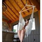 Brazilian Style Hammock Chair - Natural