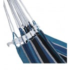 Brazilan Single Hammock - Steel Blue Closeup