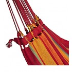 Brazilian Single Hammock - Carnival Close Up