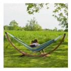 Solid Pine Frame & Double Hammock Combo - Oasis