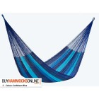 King Cotton Hammock - Caribbean Blue