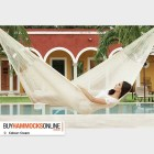 Jumbo Cotton Hammock - Cream