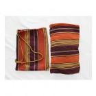 Relax Double Hammock & Frame Combo in Orange & Purple bag and hammock