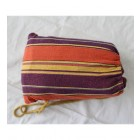 Double Hammock in Purple and Orange Bag