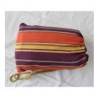 Relax Double Hammock & Frame Combo in Orange & Purple bag