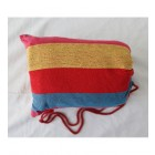 Double Hammock in Red, Yellow and Blue in bag