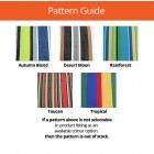 Rio Double Hammock - Colour Guide