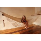 Single Nicaraguan Hammock - Natural with Child