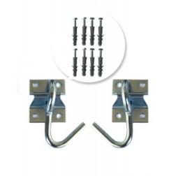Double Hammock Hook Kit