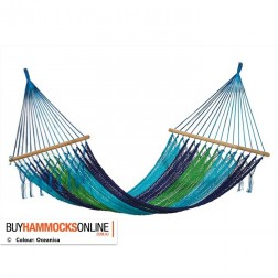 Mexican Resort Queen Fringless Hammock