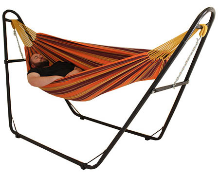 Hammock in stand example