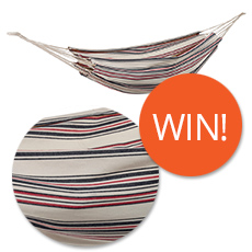 Win a Siesta Double Hammock in Aztec